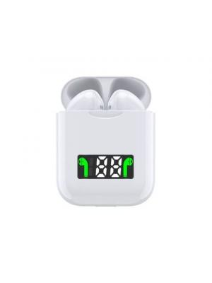 Generic I99 Bluetooth Double Earphones Charge – White